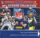 2012 Panini Football Sticker Box