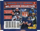 Image for  8x 2012 Panini Football Sticker Pack