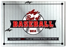 2014 Leaf Best Of Baseball Hobby Box