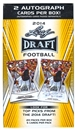 2014 Leaf Draft Football Box with Two Autographs !!!