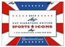 2014 Leaf Sports Icons Cut Signature Edition Hobby Box