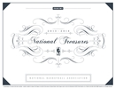 2013/14 Panini National Treasures Basketball Hobby 3-Box Case (Presell)