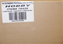 2014 Panini Absolute Football Hobby 10-Box Case