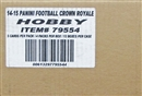 2014 Panini Crown Royale Football Hobby 12-Box Case