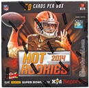 2014 Panini Hot Rookies Football Hobby Box