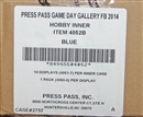 2014 Press Pass Gameday Gallery Football Hobby 10-Box Case