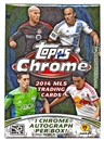 2014 Topps Chrome MLS Soccer 8-Pack Box (1 Chrome Autograph Per Box)!