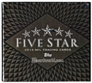 2013 Topps Five Star Football Hobby Box