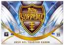 2014 Topps Supreme Football Hobby Box