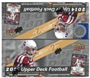2014 Upper Deck Football Retail 24-Pack Box