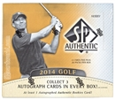 Image for  2014 Upper Deck SP Authentic Golf Hobby Box