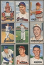 1951 Bowman Baseball Starter Set (45 Different) EX