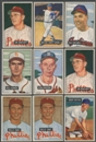 1951 Bowman Baseball Lot of 34 Cards (21 Different) EX