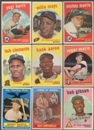 1959 Topps Baseball Complete Set (EX-MT/NM)