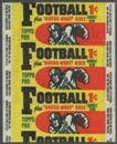 1959 Topps Football Wrapper (1 cent) (Repeating)