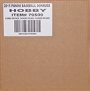 2015 Panini Donruss Baseball Hobby 16-Box Case