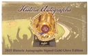 2015 Historic Autograph Gold Glove Signature Edition Baseball Hobby Box