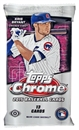 2015 Topps Chrome Baseball Jumbo Pack