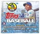 Image for  2015 Topps Series 1 Baseball Jumbo Box