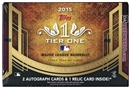 2015 Topps Tier One Baseball Hobby Box
