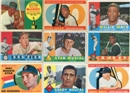 1960 Topps Baseball Near Complete Set 552/572 (EX-MT)