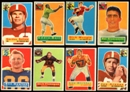 1956 Topps Football Lot of 28 Cards (17 Different) EX-MT