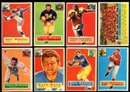 1956 Topps Football Starter Set (73 Cards) EX-MT