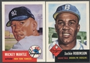 1953 Topps Archives (1991) Baseball Complete Set