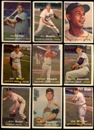 1957 Topps Baseball Starter Set (352 Cards) VG
