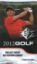2012 Upper Deck SP Golf Retail 24-Pack Lot