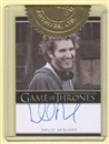 Game of Thrones Season Two Executive Producer David Benioff Autograph Card (Rittenhouse 2013)