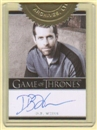 Game of Thrones Season Two Executive Producer D.B. Weiss Autograph Card (Rittenhouse 2013)
