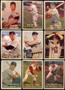 1957 Topps Baseball Starter Set (225 Cards) VG