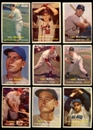 1957 Topps Baseball Starter Set (79 Cards) VG