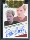 Star Trek: The Next Generation Heroes & Villains Denise Crosby Autograph Card (Rittenhouse 2013)