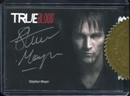 True Blood Archives Stephen Moyer (Bill Compton) Silver Series Autograph Card (Rittenhouse 2013)