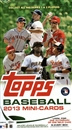 2013 Topps Baseball Mini Cards 24-Pack Box