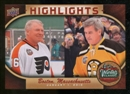 2010/11 Upper Deck Winter Classic Oversized 14 Card Set