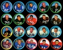 1962 Salada Football Coins Lot (20 Different)