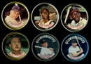 1964 Topps Baseball Coins Lot Of 58 (49 Different) (Mantle - Clemente - Aaron)