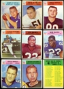 1966 Philadelphia Football Complete Set (VG+)