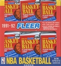 1991/92 Fleer Series 2 Basketball Jumbo Box