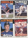 1986 O-Pee-Chee Baseball Complete Set (NM-MT condition)