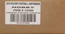 2011 Panini Contenders Football Hobby 12-Box Case