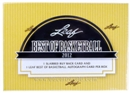 2011/12 Leaf Best Of Basketball Hobby Box