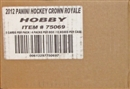 2011/12 Panini Crown Royale Hockey Hobby 12-Box Case