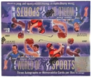 2x 2011 Upper Deck World of Sports Hobby Box