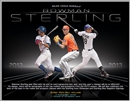 2013 Bowman Sterling Baseball Hobby 4-Box Case (Presell)