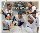 2013 Topps Five Star Baseball Hobby Box (Presell)
