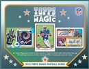 2013 Topps Magic Football Hobby 12-Box Case (Presell)
